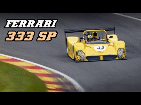 FERRARI 333 SP - 11.000 rpm V12 F1 sound