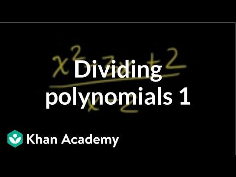 Long Division Polynomials Worksheet