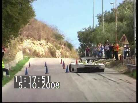 Preview video 11° SLALOM MONTE KRONIO 5 OTTOBRE 2008. Accursio Miraglia su Osella-Honda