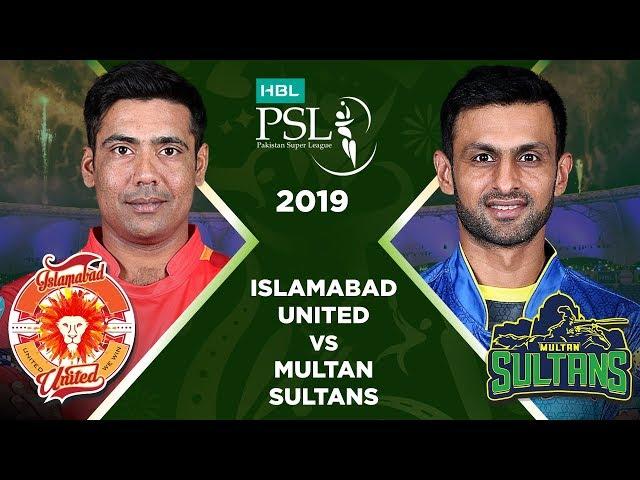 Match 4: Full Match Highlights Islamabad United vs Multan Sultans   HBL PSL 4   2019