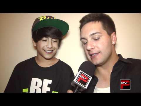 Julian DeGuzman of ICONic Boyz 1-1 Interview at ICONic Experience NRG Dance Project Tour AZ