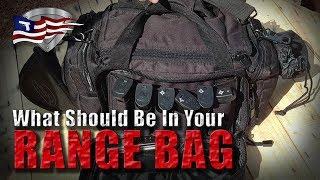 Best Shooting Range Bag Set Up! / What's In Your Range Bag