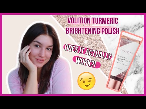 Turmeric Brightening Polish by Volition Beauty #6
