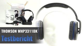THOMSON WHP3311BK im Test - Sehr günstiger Funkkopfhörer