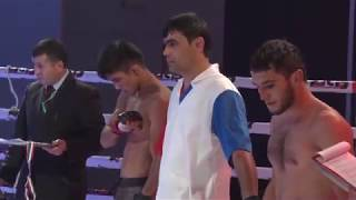 Khurshed Nazarov VS Nazarov Shukhrat TFC-5 Dushanbe Tajikistan 2017