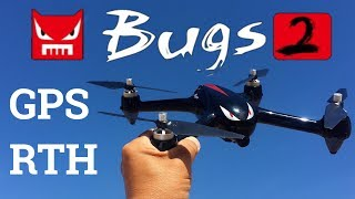 MJX B2W Bugs 2 WiFi FPV Brushless With 1080P HD Camera GPS RC Quadcopter RTF