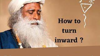 Sadhguru JV, How to turn inward and what do we see inside ?