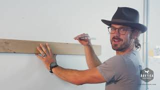 How to Install a Fireplace Mantel Instructions - Rustica Hardware