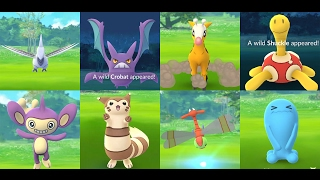 Crobat  - (Pokémon) - CATCH POKÉMON GO GEN 2 Crobat, Skarmory, Aipom, Girafarig, Murkrow , Quagsire & Furret