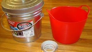 How To Make A Faraday Cage In 5 Minutes Using 3 Items - How To Test It, Also