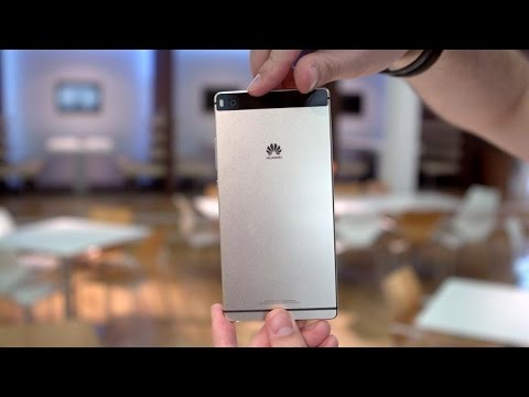 Hands-on with the skinny, metal Huawei P8