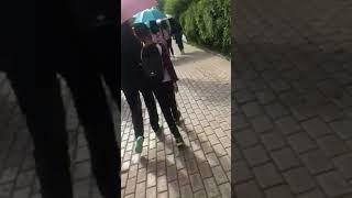 Китайский сынок лапает свою мать ( Воробьёвы горы(fifa2018)