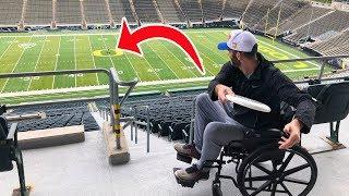 Epic Wheelchair Trick Shot Battle | Brodie Smith