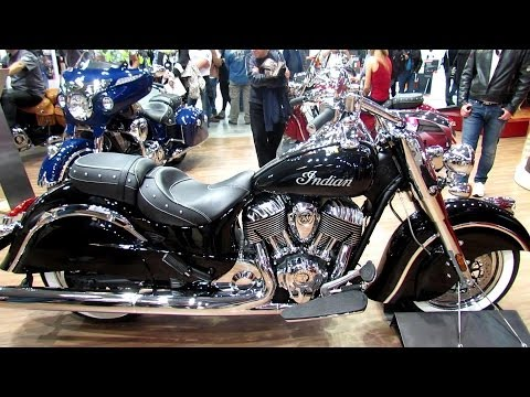 2014 Indian Chief Classic Motorcycle Walkaround