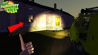 EXPLORING THE HAUNTED HOUSE *NEW WHEEL* - My Summer Car
