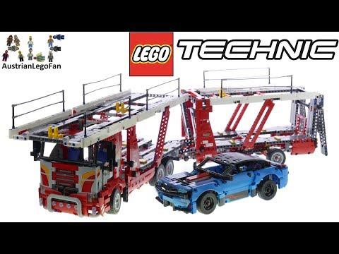 Vidéo LEGO Technic 42098 : Le transporteur de voitures