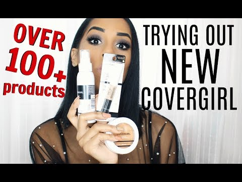 Trying Out NEW Covergirl | OVER 100 NEW PRODUCTS | REVIEW