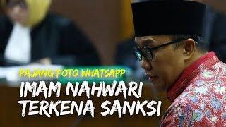 Pajang Foto Whatsapp di Dalam Rutan, Imam Nahwari Terancam Kena Sanksi Disiplin