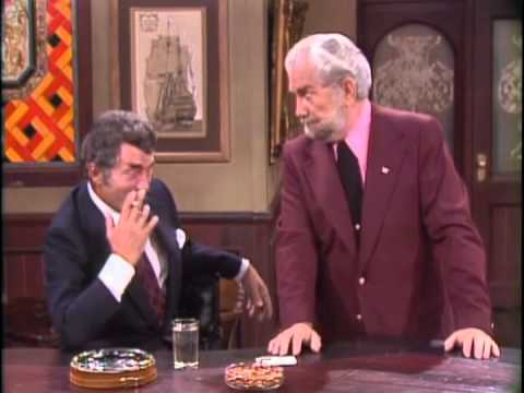 Dean Martin, Ken Lane & Foster Brooks in a Classic Comedy Routine