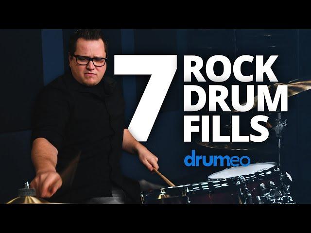 7 Rock Drum Fills for Beginners