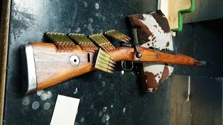 """preview picture of video 'German Mauser K98 Rifle 8x57 IS """"Infanterie Spitz"""" (7.92x57mm)'"""