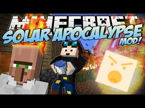 Minecraft | SOLAR APOCALYPSE MOD! (Can You Survive the FIRE?!) | Mod Showcase