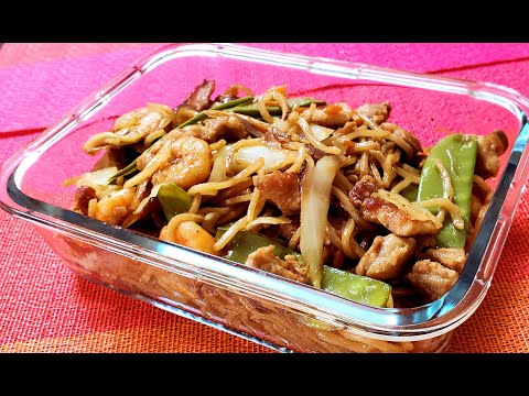 How to make Delicious Pancit canton
