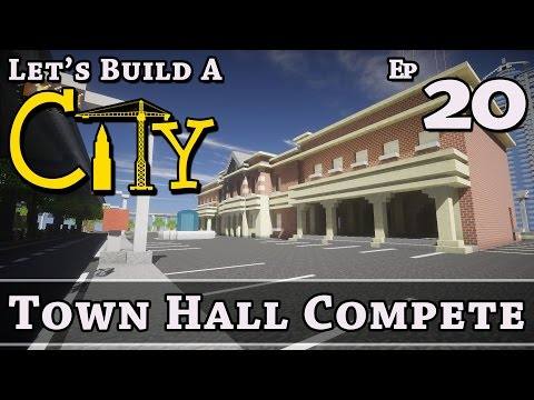 How To Build A City :: Minecraft :: Town Hall Complete :: E20 :: Z One N Only
