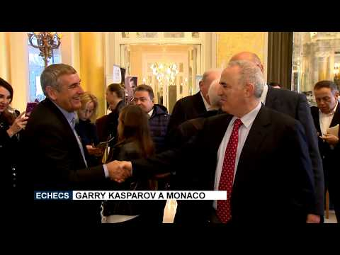 Chess: Garry Kasparov in Monaco