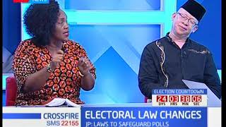 Cross fire : Electoral law changes -NASA opposes the move to amend laws