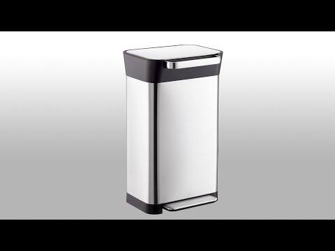 JosephJoseph Stainless Steel 8 gal Titan Trash Compactor