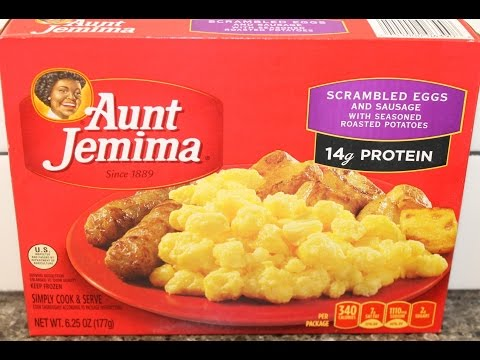 Aunt Jemima: Scrambled Eggs and Sausage Frozen Meal Review