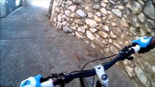 preview picture of video 'Descenso calles de Eslida'