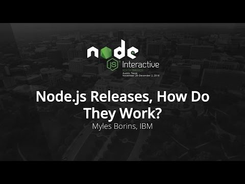 Node.js Releses, How Do They Work?