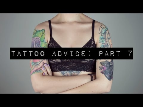 Video Tattoo Advice Part 7: Position & Placement