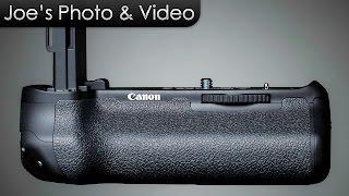 CanonBG-E14BatteryGripFor70D&80D-Review&GenericGripComparison