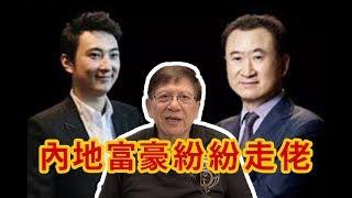 (中文字幕 )王健林冧檔?內地富豪陸續走佬背後的原因〈蕭若元:理論蕭析〉2019-11-08