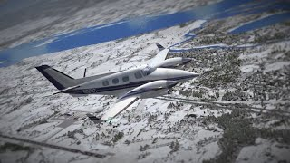 preview picture of video 'FSX Test Flight'