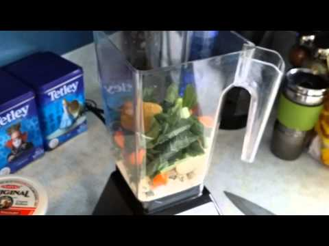 Video Blendtec Kale Carrot Broccoli Collard... Juice