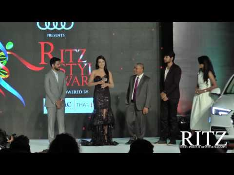 Catherine Tresa wins Young Star at Audi Ritz Style Awards