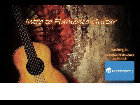 """Free """"Intro to Flamenco Guitar"""" Class on TakeLessons TV"""