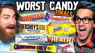 Worst Halloween Candy Bar Taste Test (Finals)