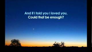 Cinematic Sunrise - You Told Me You Loved Me (Lyrics)