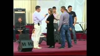 Движение Святого Духа на служении Михаэля Шагас