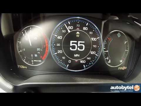 2014 Cadillac XTS Vsport 0-60 MPH Test Video