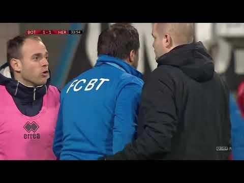 Ботошани - FC Hermannstadt 2:1. Видеообзор матча 10.02.2020. Видео голов и опасных моментов игры
