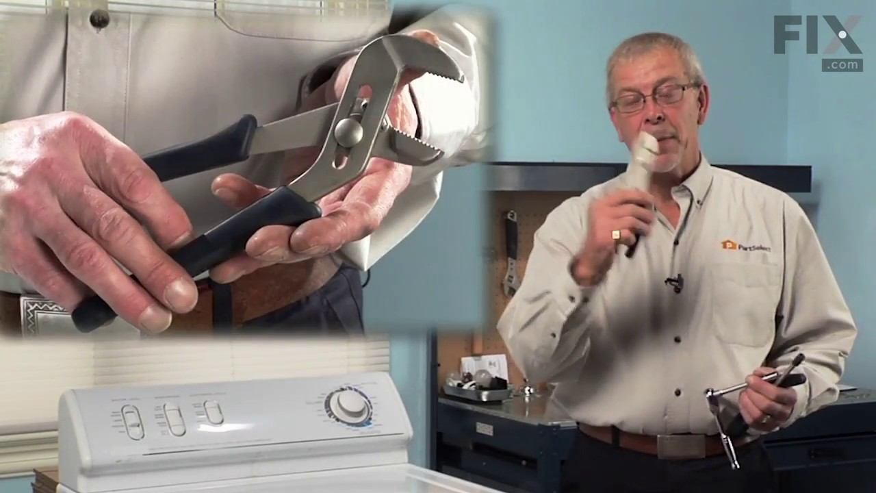 Replacing your Norge Washer Drain Pump with Pulley