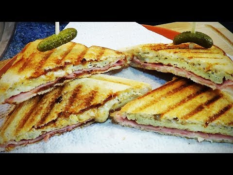 Sandwich 🥪 MIXTO 🥪 con HUEVO en🥪 SANDWICHERA RECETA#339