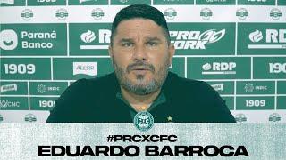 Entrevista Pós-jogo Eduardo Barroca