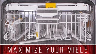 Miele Dishwasher - How to Load and Maximize Performance